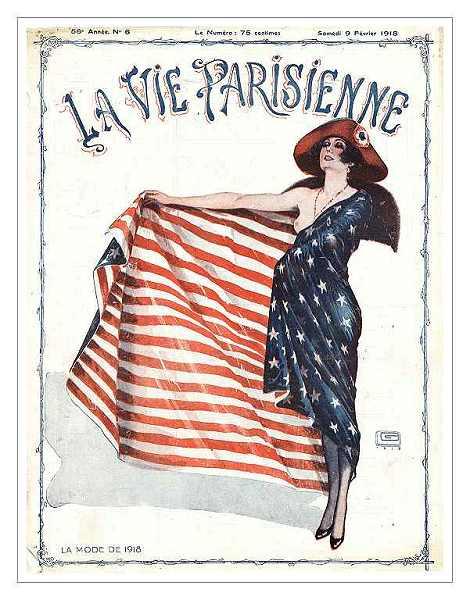 Парижская высокая мода времен первой