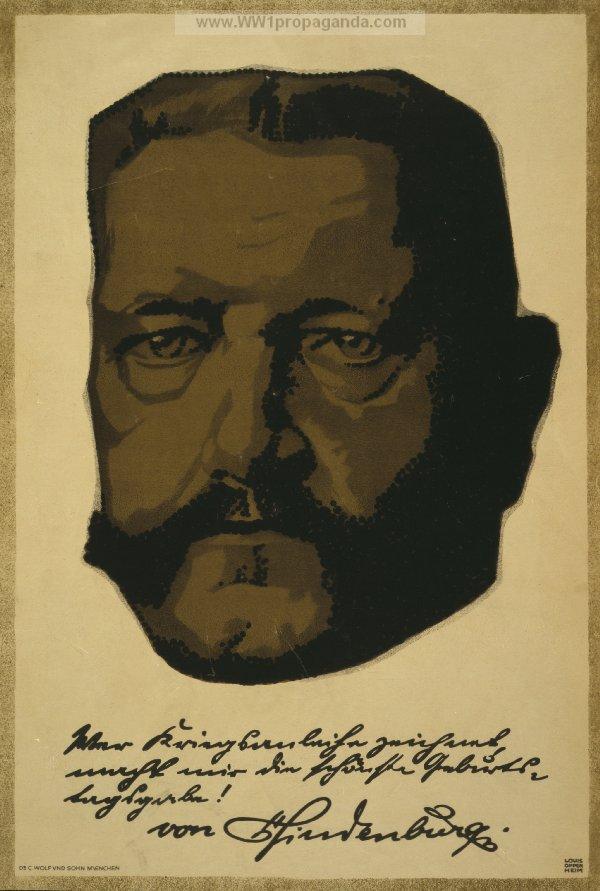 Пауль фон Гинденбург. Герой Таненберга, будущий рейхспрезидент Веймарской Республики