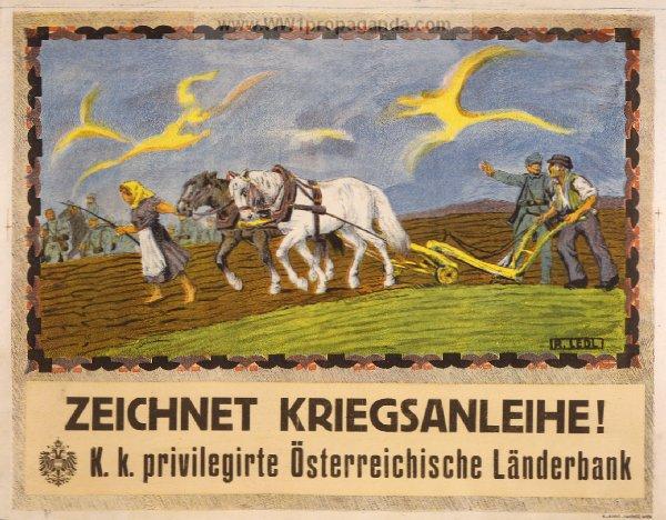 Плакаты первой мировой австро