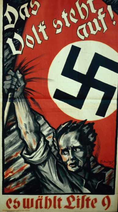 Сентябрь 1930 года. Выборы в рейхстаг. Народ поднимается. Он выбирает избирательный список номер 9