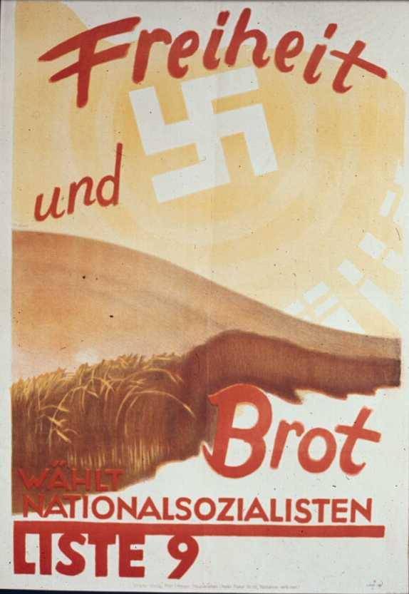 Выборы в сентябре 1930 года. Свобода и хлеб. Список номер 9