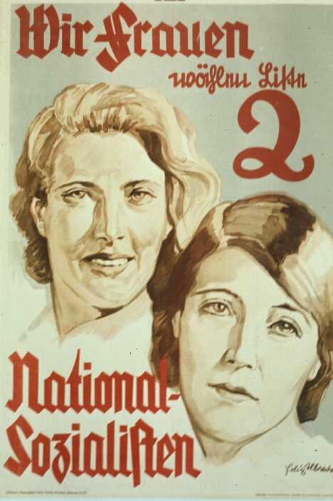 Июль 1932 года. Мы, женщины голосуем за избирательный список номер 2