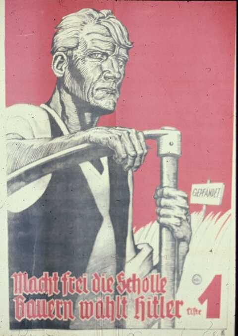 Ноябрьские выборы. Фермеры голосуют за Адольфа Гитлера, избирательный список номер 1