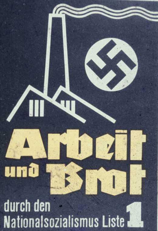 Ноябрь 1932 года. Работа и хлеб через национал-социализм