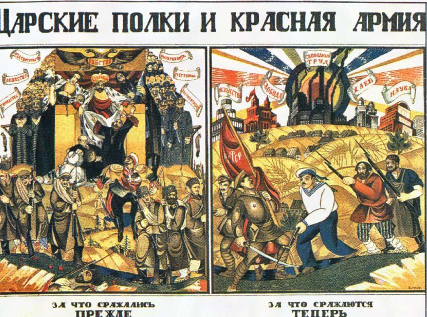 Сравнение царских полков и Красной Армии