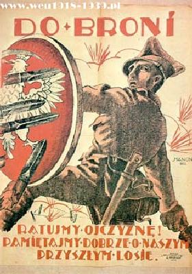 Советско польская война 1919 21 плакаты