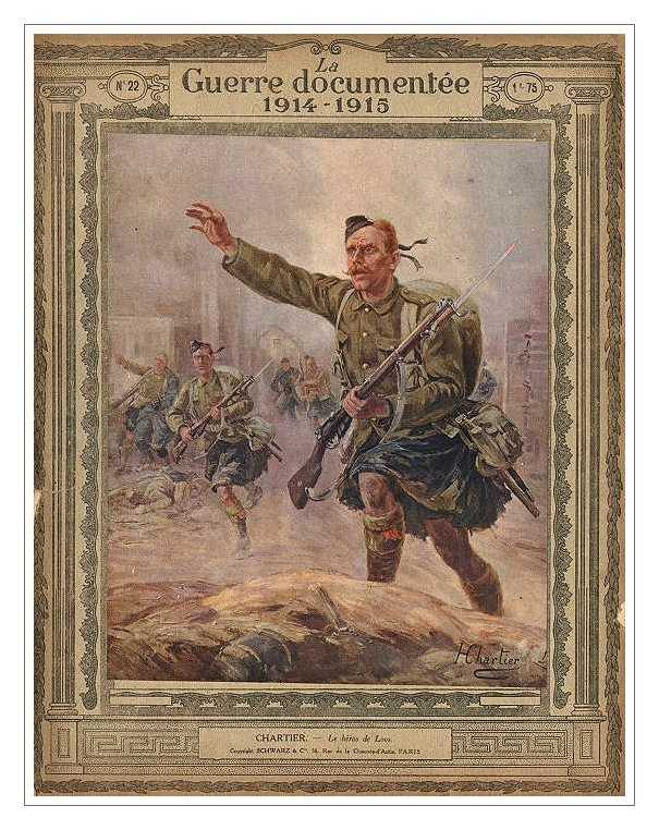 Атакуют шотландцы