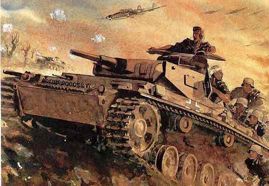 Атакуют Pz. III