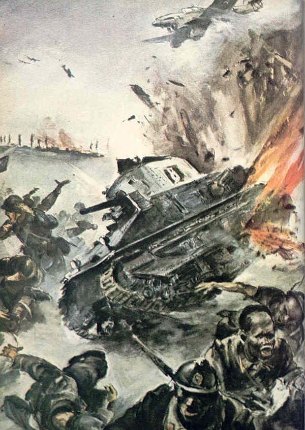 Самолеты против танков