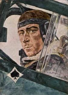 В. Виллрих. Полковник Вернер Мелдерс. 1941 (официальный счет - 101 победа в воздушных боях)