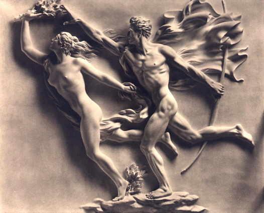 Арно Брекер. Аполлон и Дафна. 1940