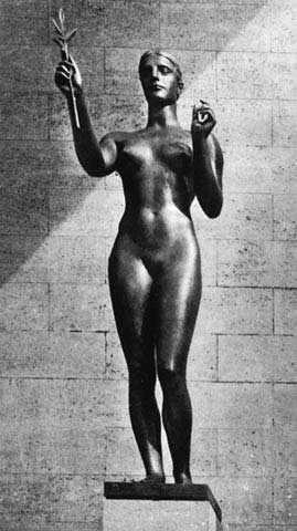 Арно Брекер. Победа. 1936