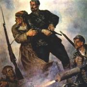 Военная живопись гражданская война