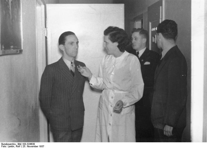 Геббельс и Лени Рифеншталь