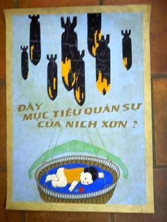 Плакаты северного вьетнама времён