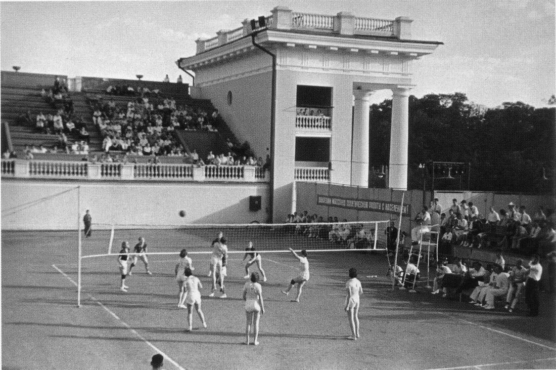 Москва. Стадион Динамо. 1930-е. Фото Э. Евзерихина