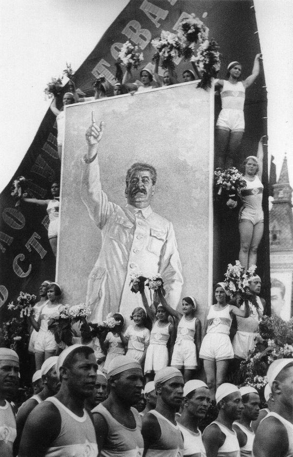 Москва. Лучший друг физкультурников. 1935. Фото И. Шагина.