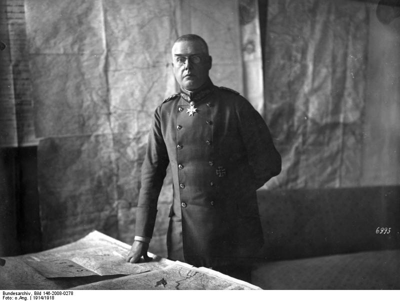 Генерал Макс Хоффман