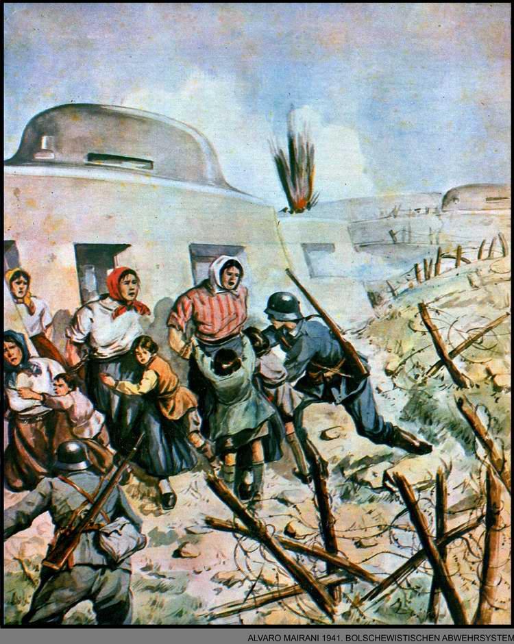 Система защиты немецкие солдаты