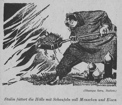 Сталин кормит ад людьми