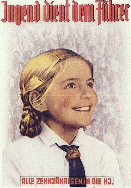 Ещё один плакат про Гитлерюгенд