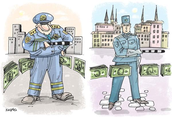 На Украине очень высокий уровень коррупции. В рейтинге коррумпированности Украина занимает 144 место, обгоняя Того, Уганду, Беларусь и Россию