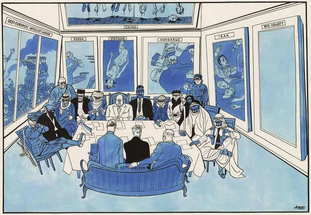 Никита Хрущев и его преступные союзники на Совещание представителей коммунистических и рабочих партий социалистических и капиталистических стран (1958 год)