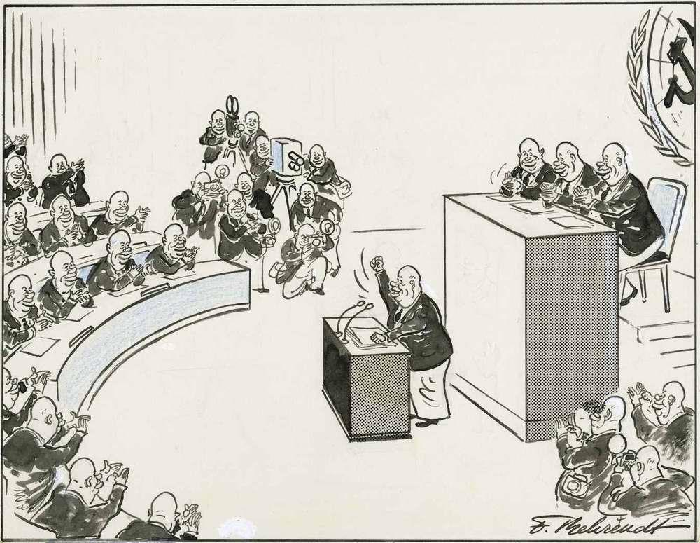 Фирменный способ решения советским лидером Хрущевым своих внутрипартийных проблем (1961 год)