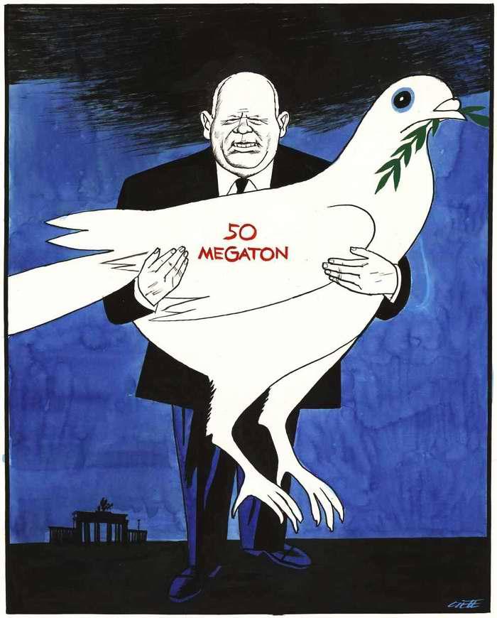 Хрущевский голубь мира весом 50 мегатонн (1961 год)
