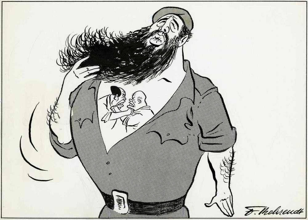 Фидель Кастро: две души живут в моей груди (1964 год)