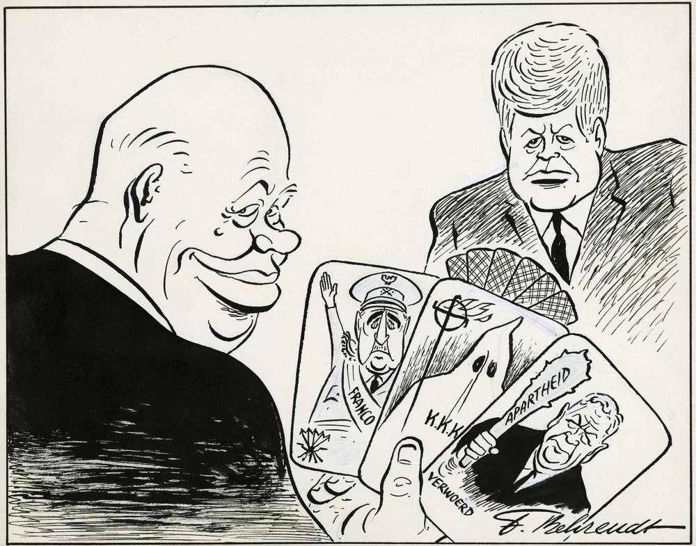 Хрущев и его козырные карты в политической игре с президентом США Кеннеди (1963 год)