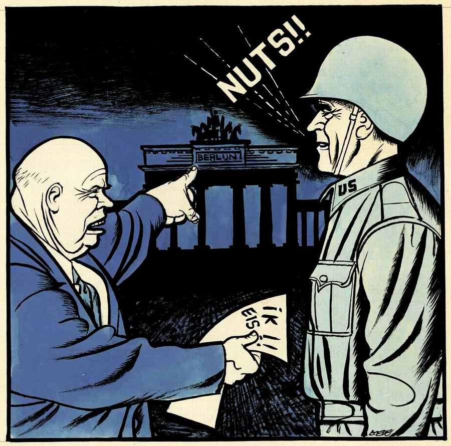 Я требую! (вашего полного удаления из пределов подконтрольного мне Восточного Берлина). 1961 год