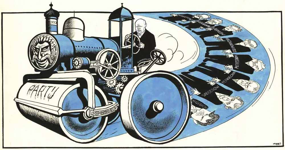Хрущев умело закатывает в асфальт всех своих внутрипартийных политических конкурентов (1961 год)