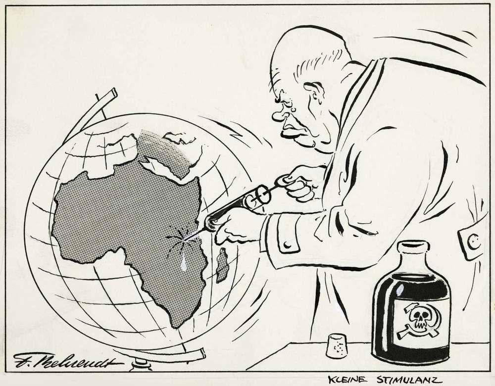 Маленькая стимуляция Африканского континента инъекцией коммунистической отравы (1963 год)