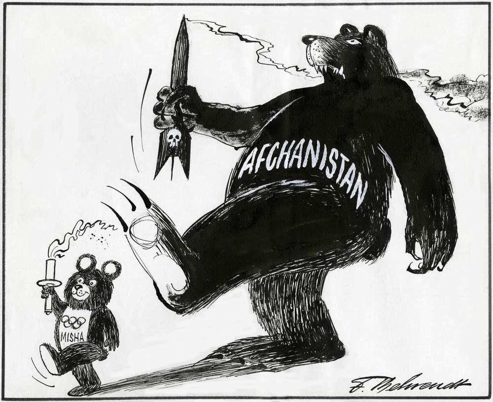 Олимпиада-80: бойкот из-за военных действие в Афганистане