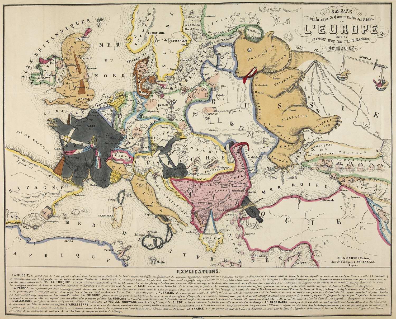 Французская карта крымская война 1853
