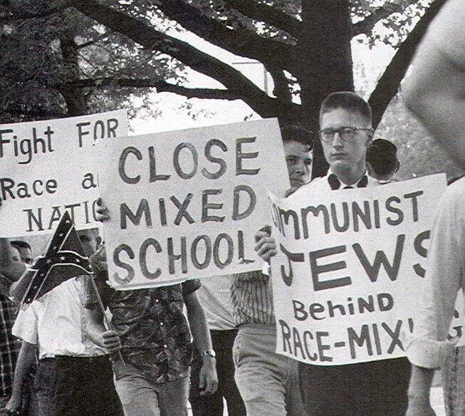 За смешивание рас стоят евреи-коммунисты