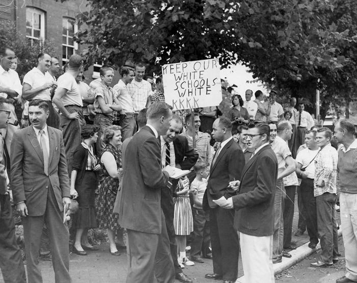 Нэшвилл, штат Теннеси, 1957 г. Сохраните наши школы белыми