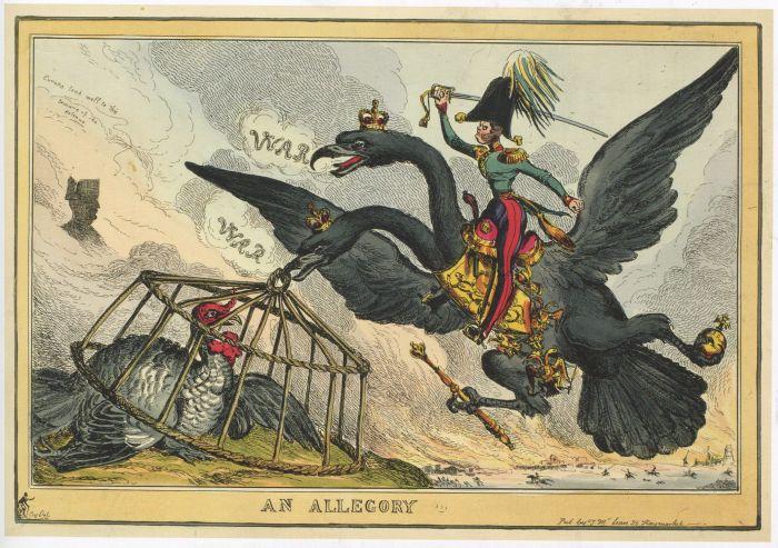 Уильям Хит. Аллегория. Вторая половина 1828 - начало 1829 гг.