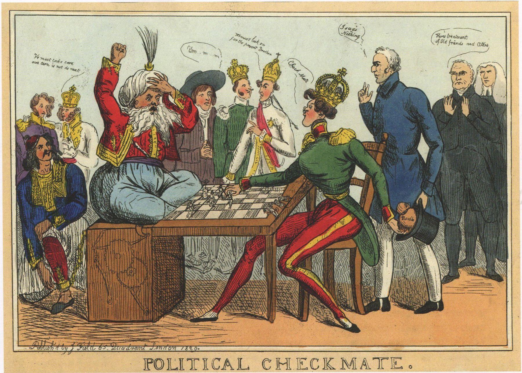 Уильям Хит. Политический шах и мат. Сентябрь 1829 г.
