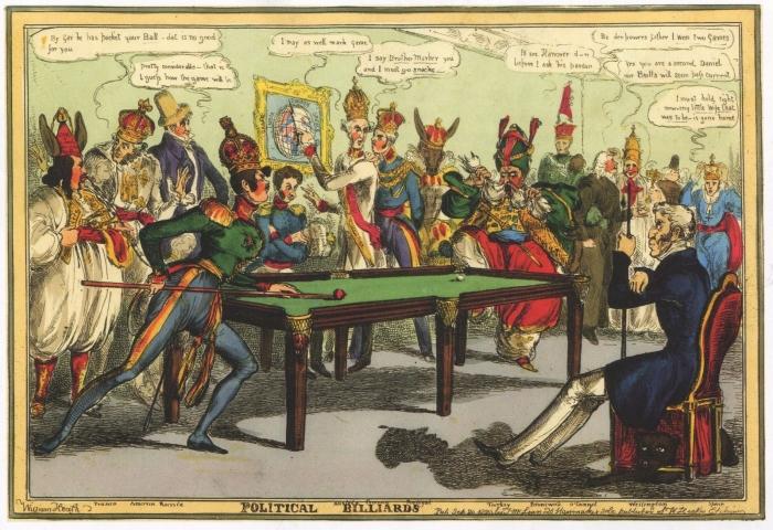 Английские карикатуры на Русско-турецкую войну 1828-1829 гг.. Великобритания. История пропаганды